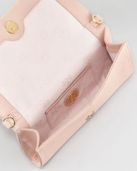 Tory Burch - Thea Foldover Crossbody Bag Porcelain Pink - Lyst