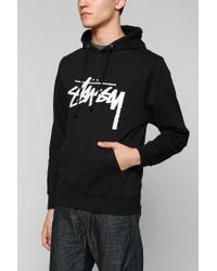 Urban Outfitters - Black Stussy X Uo Croc Pullover Hoodie Sweatshirt for Men - Lyst