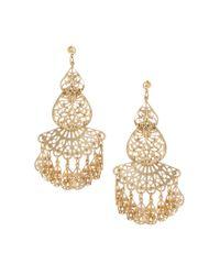 ASOS | Metallic Filigree Earrings | Lyst