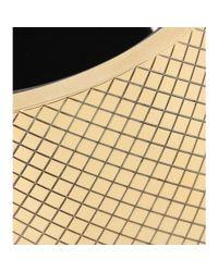 Bottega Veneta - Metallic Leather Cuff Bracelet - Lyst