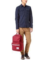 Herschel Supply Co. - Red Pop Quiz Backpack for Men - Lyst