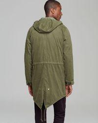 Jack Spade - Green Bolton Fishtail Convertible Vest Anorak for Men - Lyst