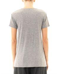 Theory - Gray Silvan Jersey T-Shirt - Lyst