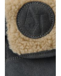 Armani Jeans - Gray Ankle Boots - Lyst