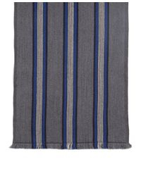 Brooks Brothers - Gray Double Faced Merino Triple Stripe Scarf for Men - Lyst
