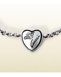 Gucci | Metallic Gg Link Bracelet - For Women | Lyst
