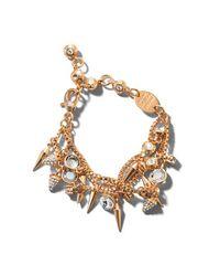 Henri Bendel - Pink Stiletto Spike Bracelet - Lyst