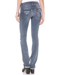 Hudson Jeans - Blue Beth Mid Rise Baby Boot Cut Jeans - Lyst
