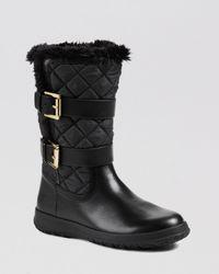 MICHAEL Michael Kors - Black Cold Weather Boots Aaran - Lyst