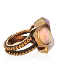 Stephen Dweck - Pink Mixed Stone Cluster Ring Size 7 7 - Lyst