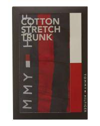 Tommy Hilfiger - Red Damien Stripe Trunk for Men - Lyst