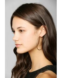 Urban Outfitters - Metallic Adina Reyter Large Circle Hoop Earrings - Lyst