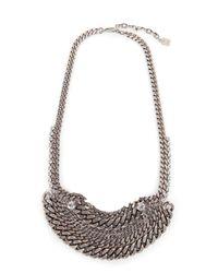 DANNIJO | Metallic Lili Necklace | Lyst
