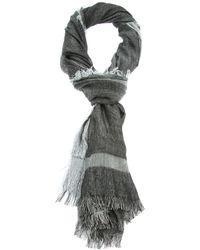 Dior Homme - Black Fringed Scarf for Men - Lyst