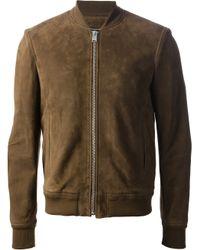 Saint Laurent | Green Zip Jacket for Men | Lyst