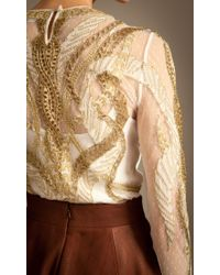 Temperley London - Metallic Aya Show Top - Lyst