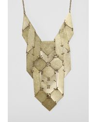Urban Outfitters - Metallic Palmdale Necklace - Lyst