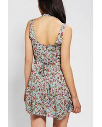Urban Outfitters | Green One Only X Urban Renewal Tieback Dress | Lyst