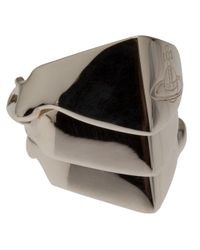 Vivienne Westwood - Metallic Knuckleduster Ring - Lyst