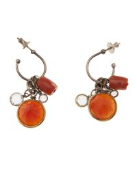 Beth Orduna | Orange Crystal Jewel Earring | Lyst