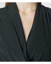 AllSaints - Green Mayra Dress - Lyst