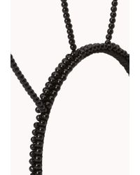 Forever 21 - Black Quirky Bunny Ears Headband - Lyst