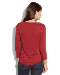Lucky Brand - Embroidered Bib Tee - Lyst