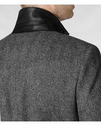 AllSaints - Gray Howard Coat for Men - Lyst