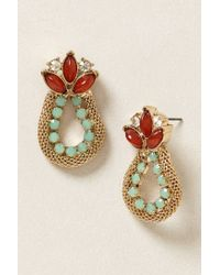 Anthropologie | Red Nepenthe Earrings | Lyst