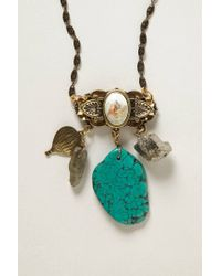 Anthropologie   Blue Quarry Necklace   Lyst