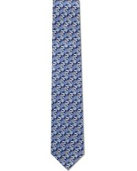 Ferragamo | Blue Hot Air Balloon Silk Tie for Men | Lyst