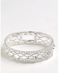 Givenchy - Metallic Beads and Crystals Bracelet - Lyst
