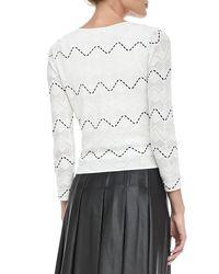 Catherine Malandrino - Black Catrin Fauxleather Skirt Stylist Pick - Lyst