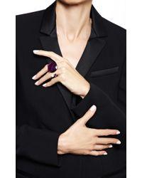 Delfina Delettrez - Never Too Light Ring In Purple Quartz - Lyst