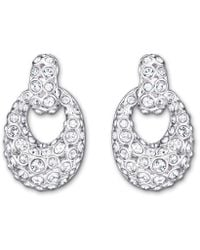 Swarovski | Metallic Rarely Pierced Earrings | Lyst