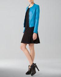 Akris Punto - Black Dropped Godet Skirt - Lyst
