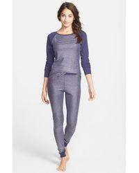 Make + Model | Metallic Thermal Pajamas | Lyst