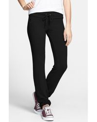 Wildfox | Black 'basics - Malibu' Skinny Jogging Pants | Lyst