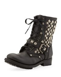 Ash | Ryanna Studded Boot Black | Lyst