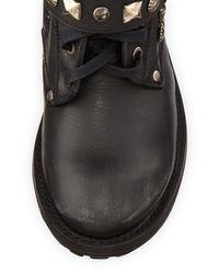 Ash   Ryanna Studded Boot Black   Lyst