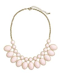 H&M - Pink Necklace - Lyst
