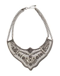 H&M - Metallic Necklace - Lyst