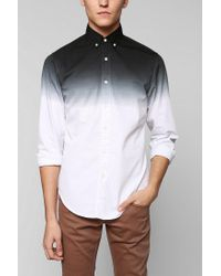 Urban Outfitters | Gray Shades Of Grey By Micah Cohen Dipdye Buttondown Shirt for Men | Lyst