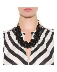 By Malene Birger - Black Canina Beaded Necklace - Lyst