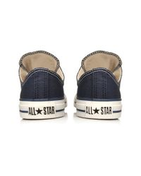 Converse | Blue All Star Low for Men | Lyst
