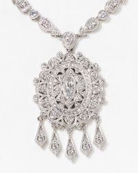 Nadri - Metallic Legacy Fringe Drop Necklace 18 - Lyst