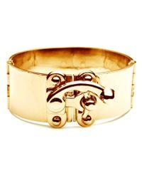 Eddie Borgo | Metallic Gold Hook Latch Cuff | Lyst