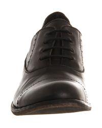 Fly London - Black Wela Brogue Shoe for Men - Lyst