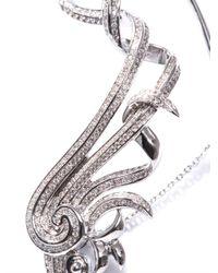 Nikos Koulis - Metallic Diamond Gold Fontana Single Earring - Lyst