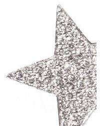 Nikos Koulis - Diamond & White-Gold Star Earring - Lyst
